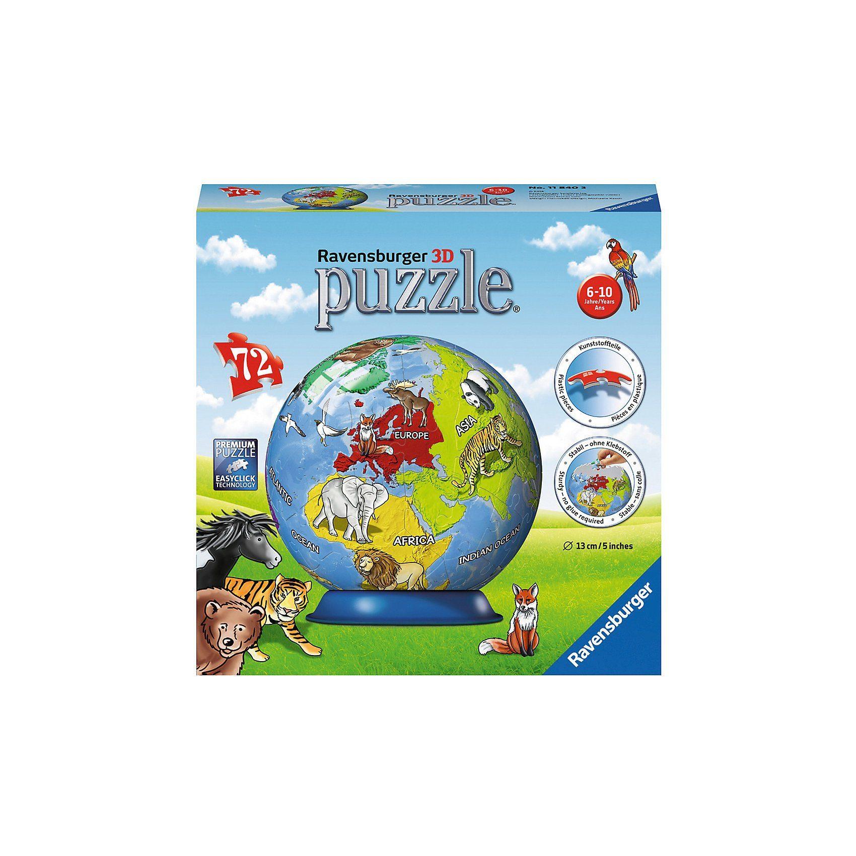 Ravensburger puzzleball® Kindererde 72 Teile