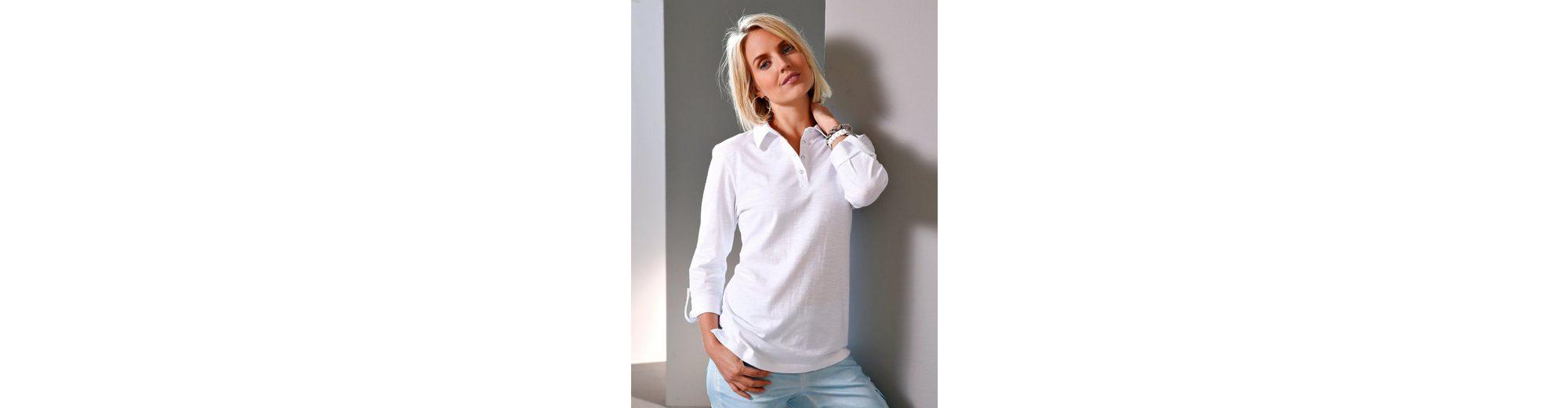 Paola Poloshirt mit Strassknöpfen Billig Verkaufen Billig Rabatt Beste Online Gehen Authentisch Verkauf Offizielle Seite Einen Günstigen Online-Verkauf xWKAj