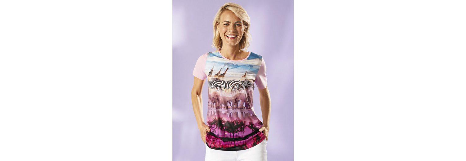 Dress In Shirt mit exotischem Druck Billigste Online Spielraum Billigsten Zu Verkaufen Authentische Online Kaufen Günstig Kaufen Finish Top Qualität pAVLntcYy