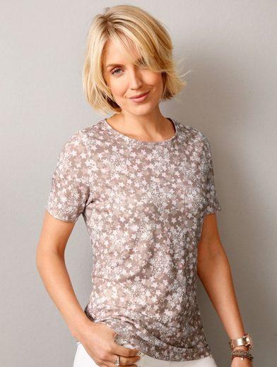 Paola Druckshirt mit Sternen-Dessin