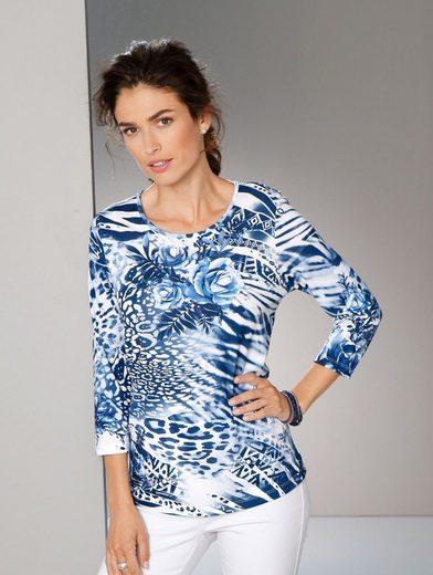 Paola Shirt mit Alloverdruck