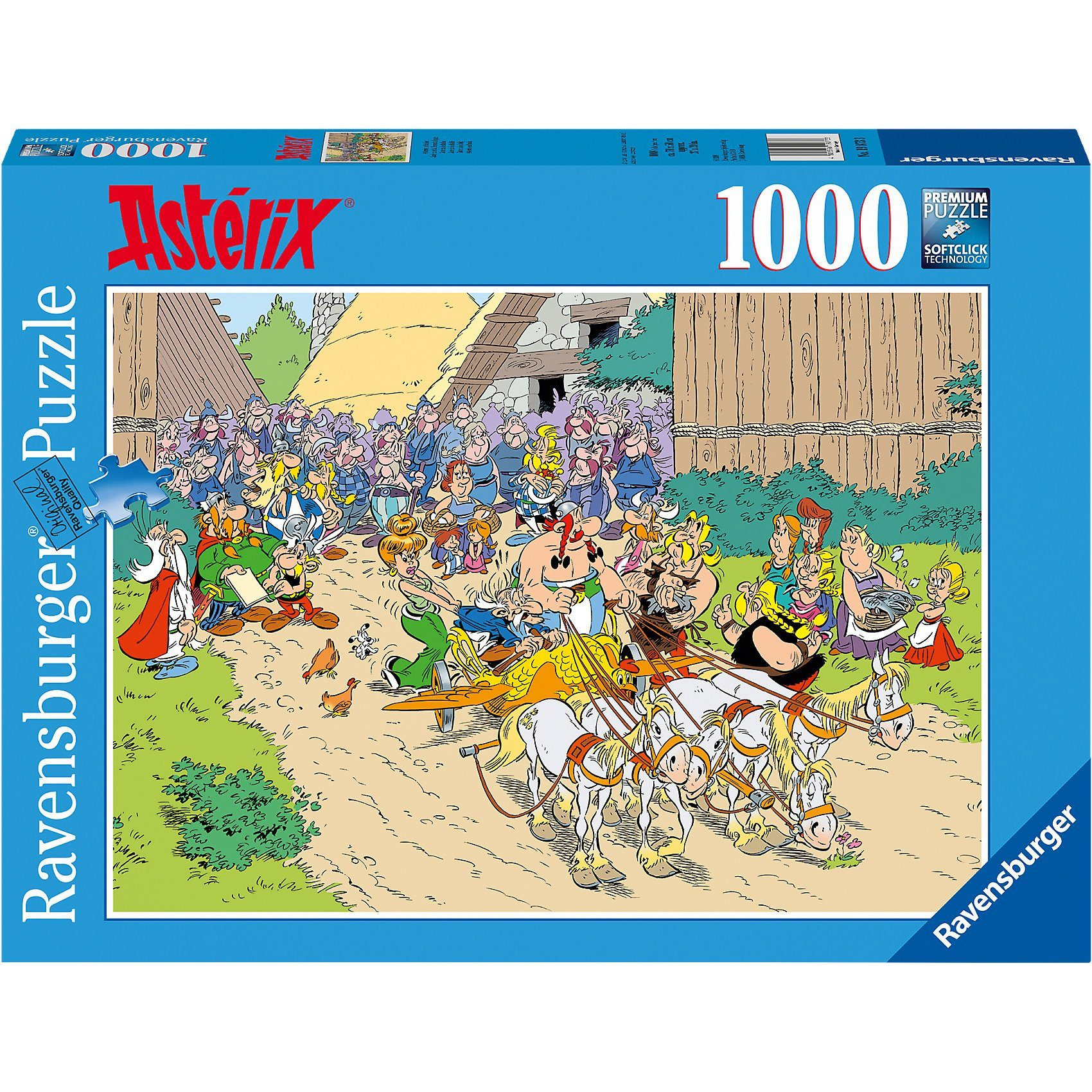 Ravensburger Puzzle 1000 Teile Asterix in Italien
