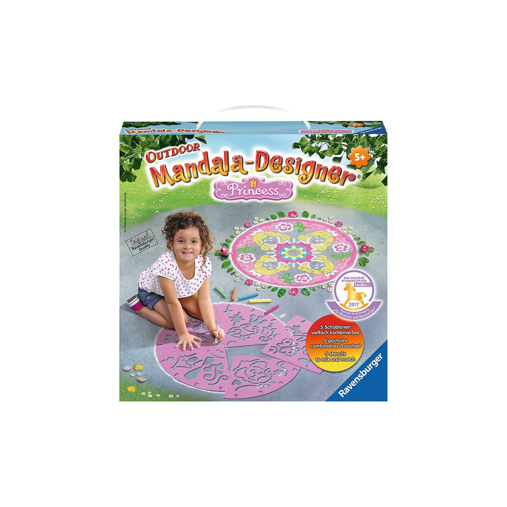 Ravensburger Outdoor Mandala Designer Princess