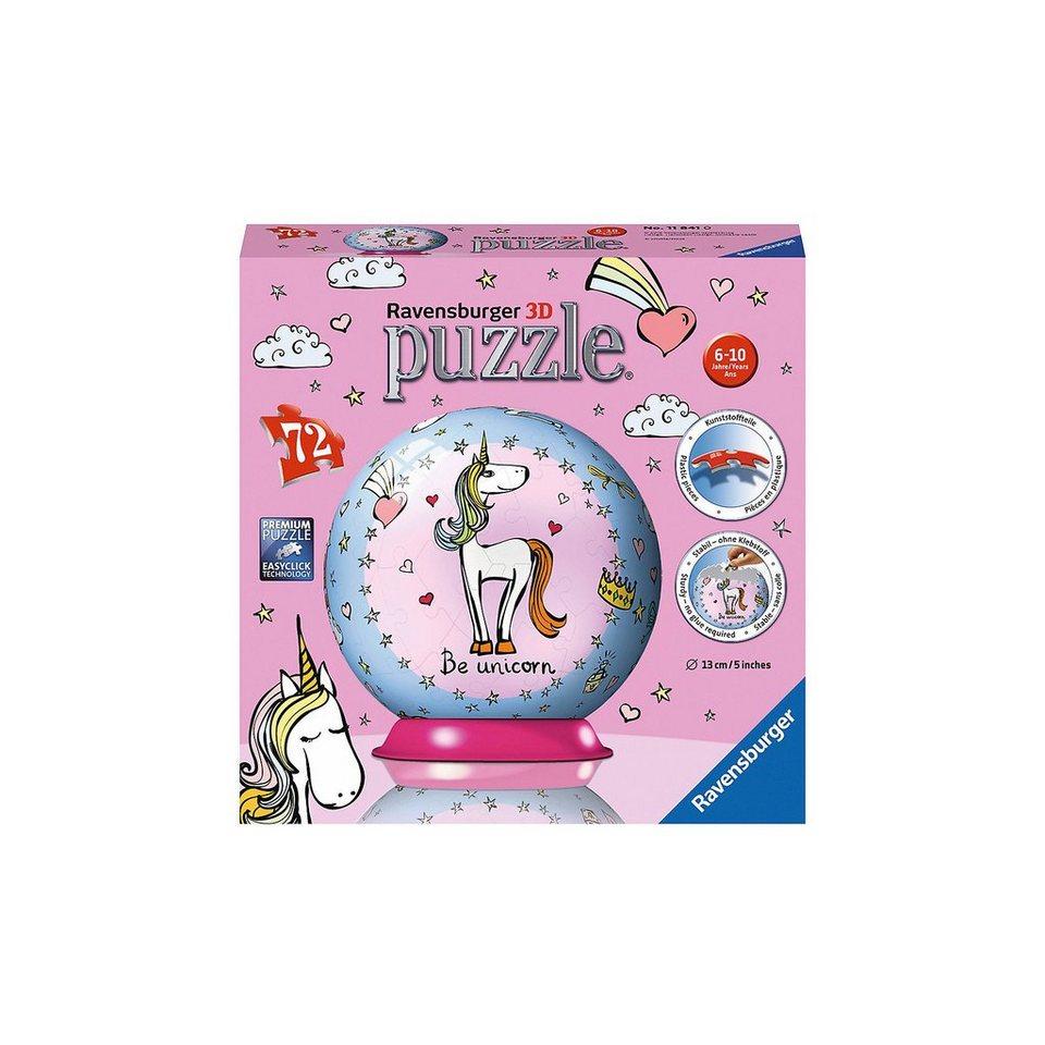 Ravensburger puzzleball® Einhorn 72 Teile kaufen