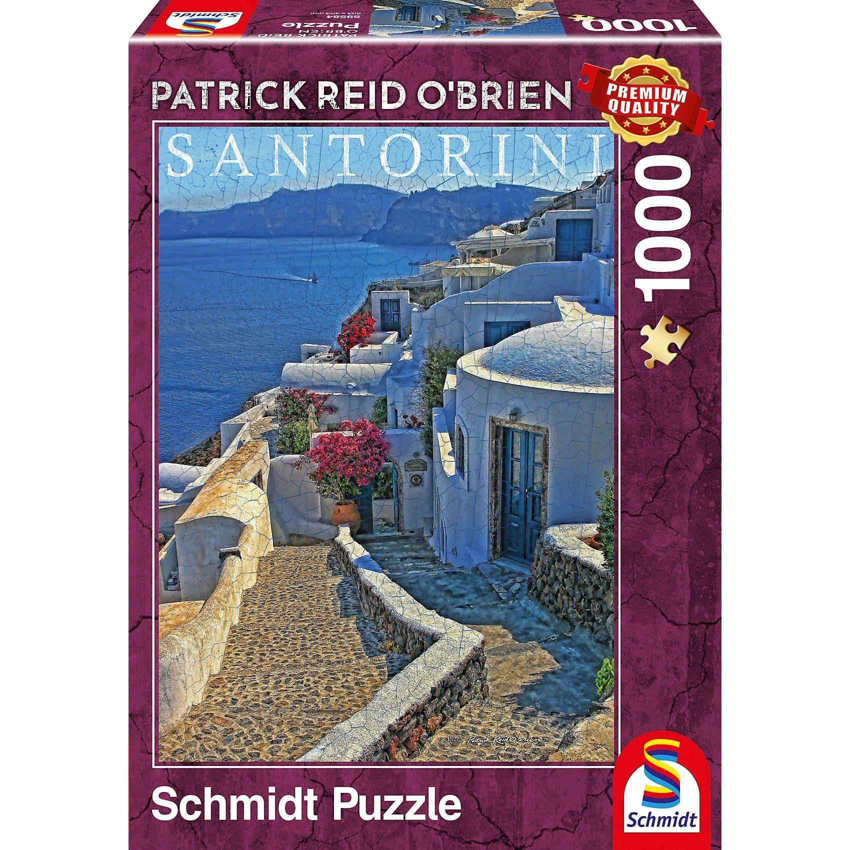 Schmidt Spiele Puzzle 1000 Teile Santorin