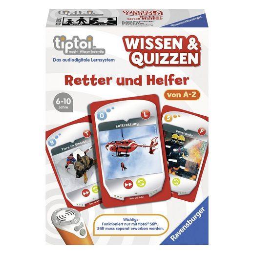 Ravensburger tiptoi® Wissen & Quizzen: Retter & Helfer (ohne Stift)