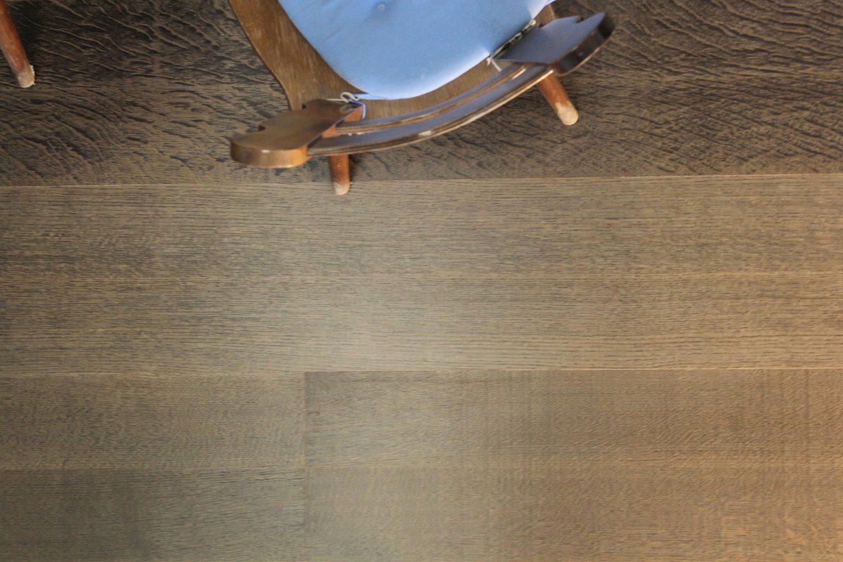 GHB Böden die Räume adeln Laminat »Eiche Dark Grey geölt«, Echtholz, 250 x 2050 mm