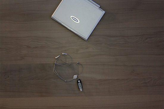 GHB Böden die Räume adeln Laminat »Design Buche Light Grey geölt«, Echtholz, 250 x 2050 mm