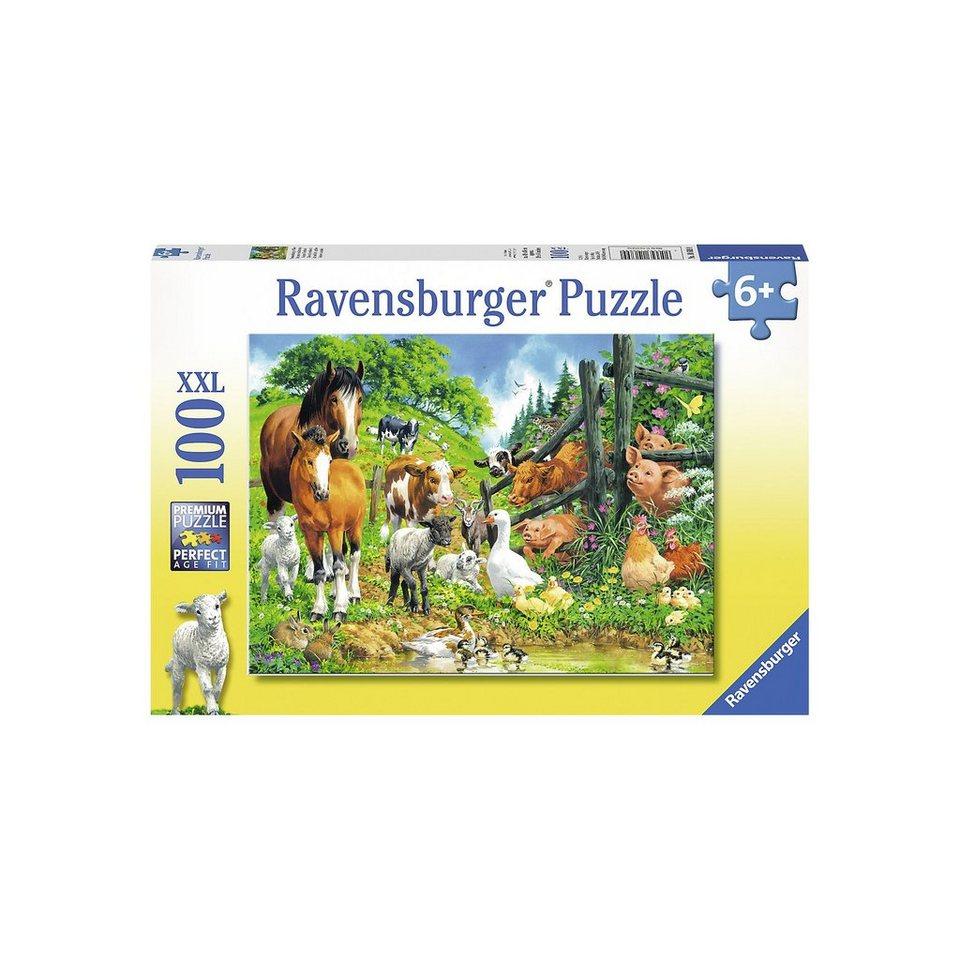 Ravensburger Puzzle 100 Teile Versammlung der Tiere online kaufen