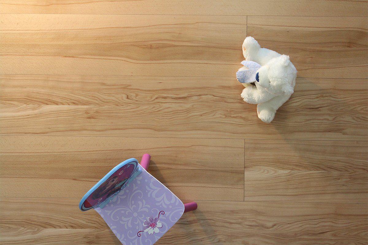 GHB Böden die Räume adeln Laminat »Design Buche geölt«, Echtholz, 250 x 2050 mm