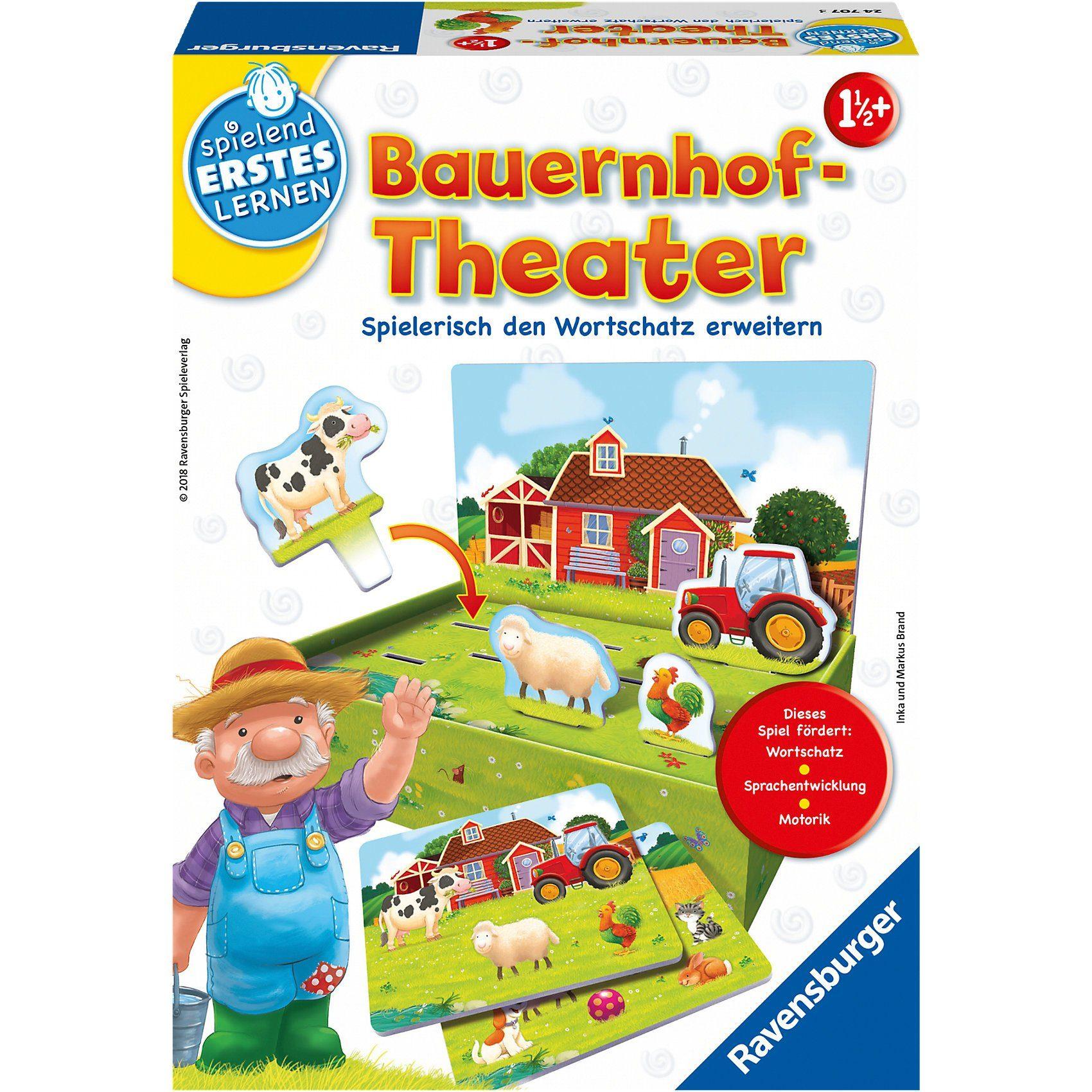 Ravensburger Spielen und Lernen Bauernhof-Theater
