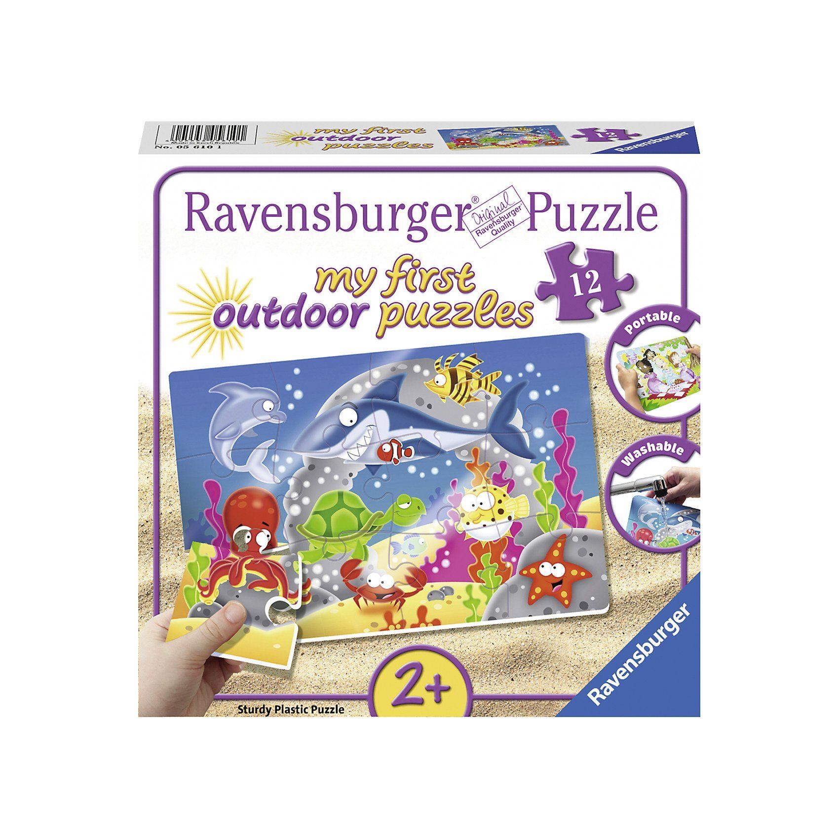 Ravensburger my first puzzles - outdoor 12 Teile Abenteuer unter Wasser