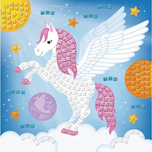 URSUS Moosgummi Mosaik Glitter Pegasus
