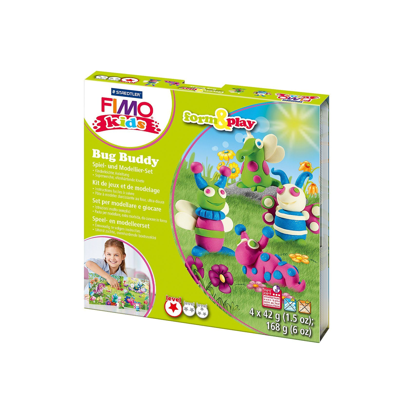FIMO kids Form & Play Käfer Freunde