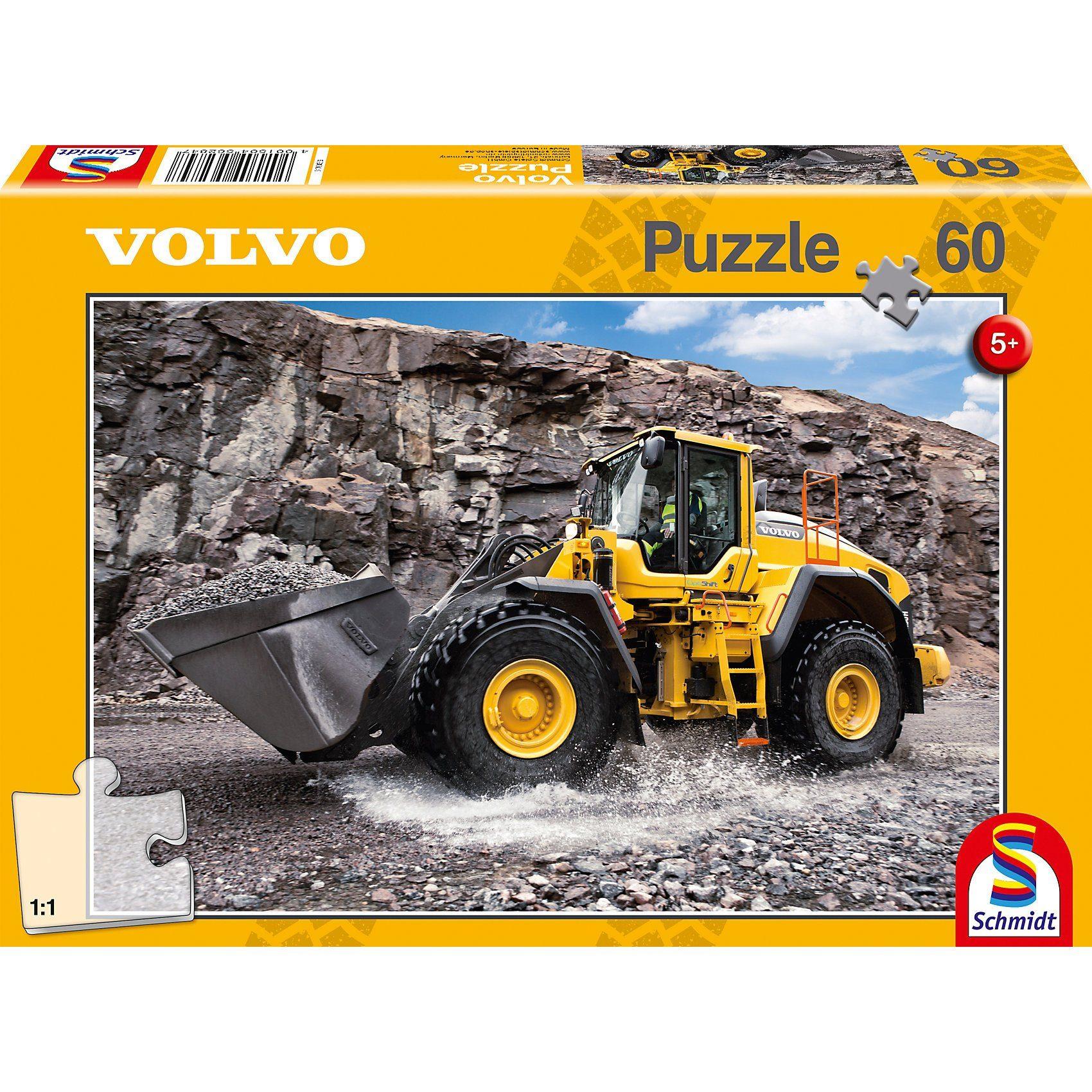 Schmidt Spiele Puzzle 60 Teile Volvo L150H