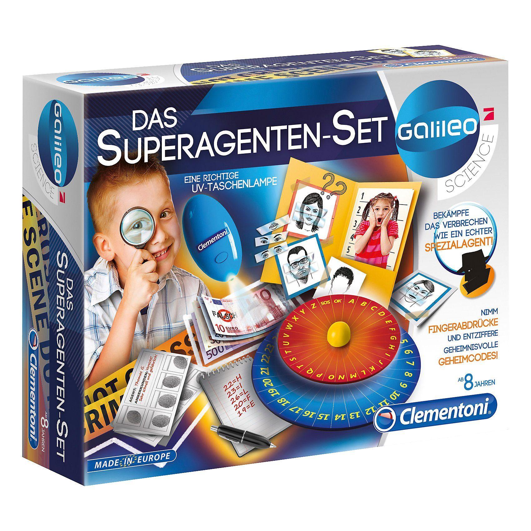 Clementoni® Galileo - Das Superagenten-Set