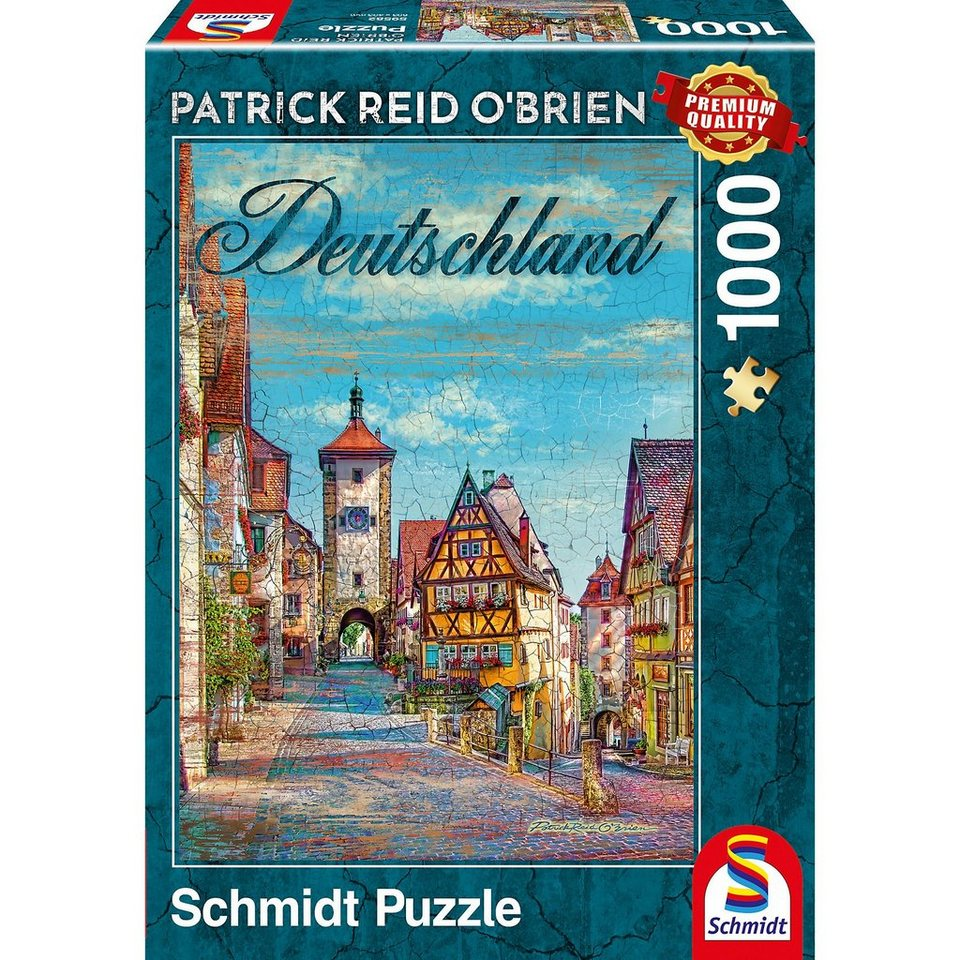 schmidt spiele puzzle 1000 teile deutschland otto. Black Bedroom Furniture Sets. Home Design Ideas