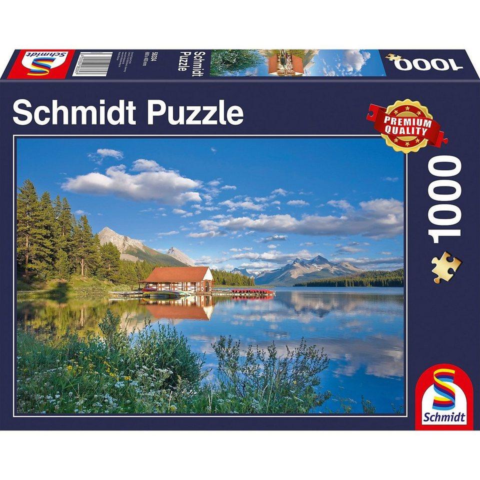 Schmidt Spiele Puzzle 1000 Teile Ein Wochenende am See online kaufen