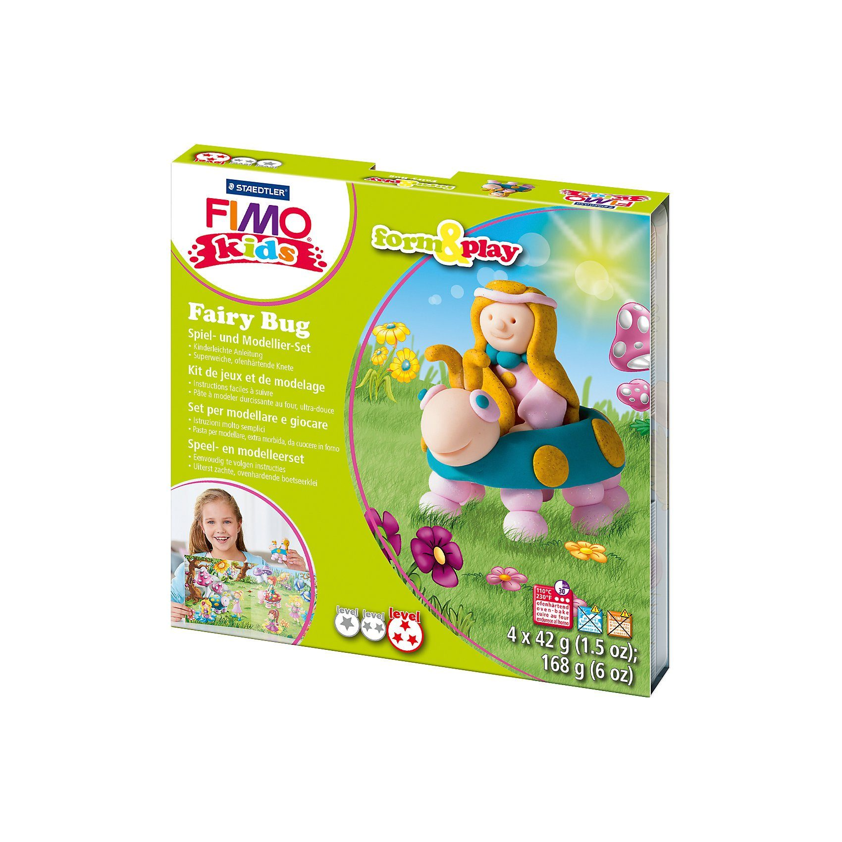 FIMO kids Form & Play Märchen Käfer
