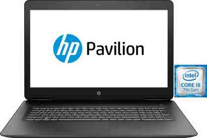HP Pavilion Power 17-ab319ng Notebook (43,9 cm/17,3 Zoll, Intel Core i5, 1000 GB HDD, 256 GB SSD)