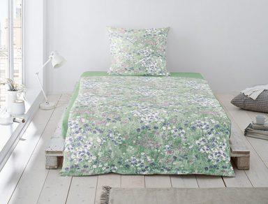 Bettwäsche »Vico«, Irisette, in Blumenwiesenoptik