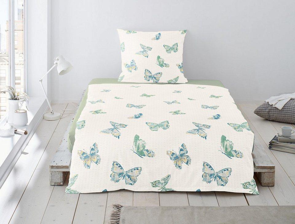bettw sche trixy irisette mit sch nen schmetterlingen online kaufen otto. Black Bedroom Furniture Sets. Home Design Ideas