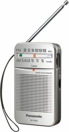 Panasonic »RF-P50DEG« Radio (150 W, automatischer Frequenzregelung (AFC)