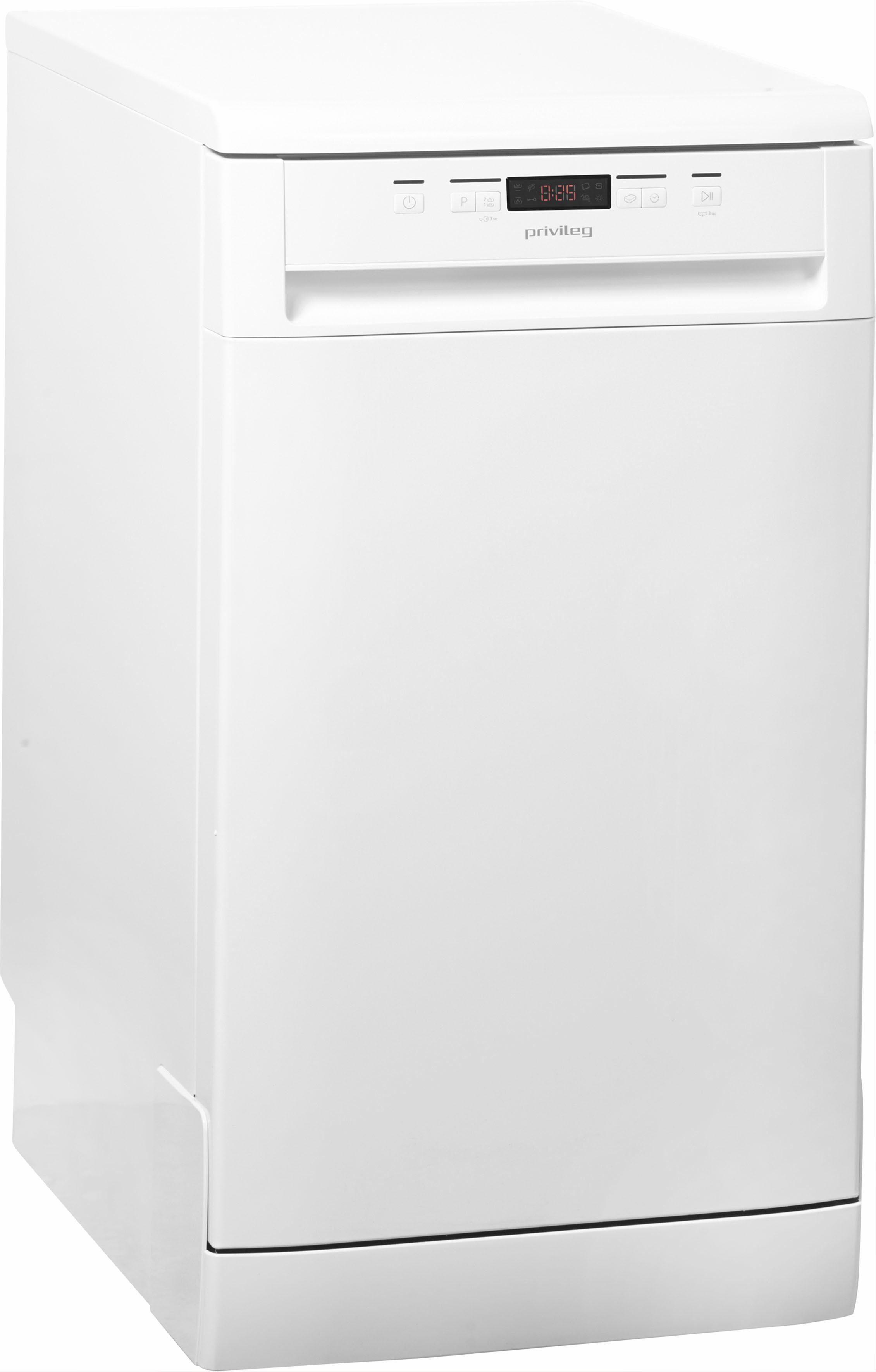 Privileg Standgeschirrspüler, RSFC 3B26, 9 l, 10 Maßgedecke, 45 cm breit