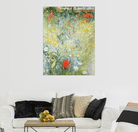 Posterlounge Wandbild - Carl Larsson »Blumen«
