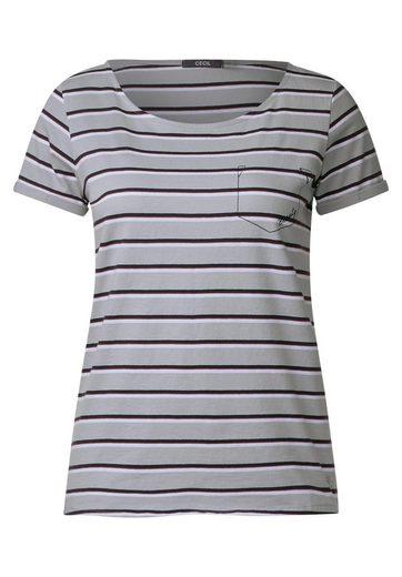 CECIL Softes Streifen Shirt