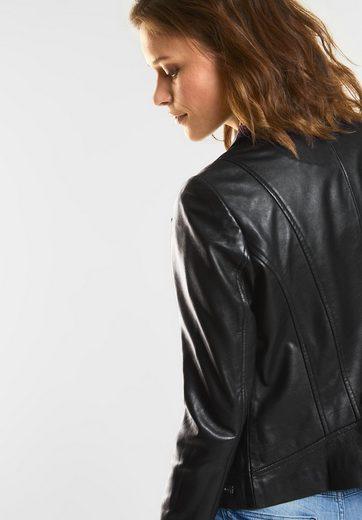 CECIL Biker Style Leder Jacke