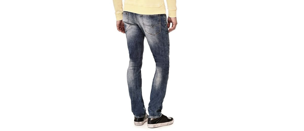 Guess JEANS SUPERSKINNY ABRIEBSTELLEN Billig Verkauf Footlocker Bilder 5U2Rp