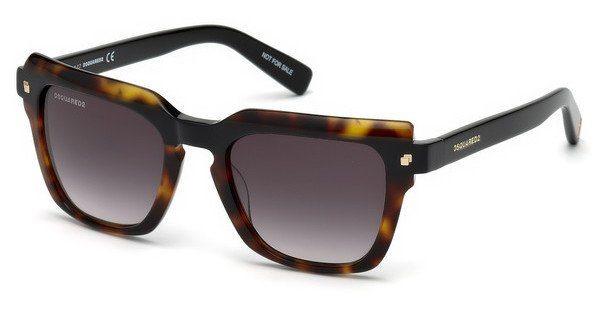Dsquared2 Sonnenbrille » DQ0285«, schwarz, 05B - schwarz/grau