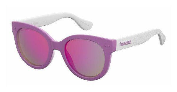 Havaianas Damen Sonnenbrille » NORONHA/S«, schwarz, O9N/VQ - schwarz/rosa