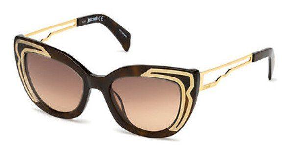 Just Cavalli Damen Sonnenbrille » JC791S«, braun, 52F - braun/braun