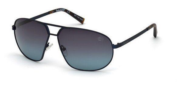Timberland Herren Sonnenbrille » TB9150«, blau, 91D - blau/grau