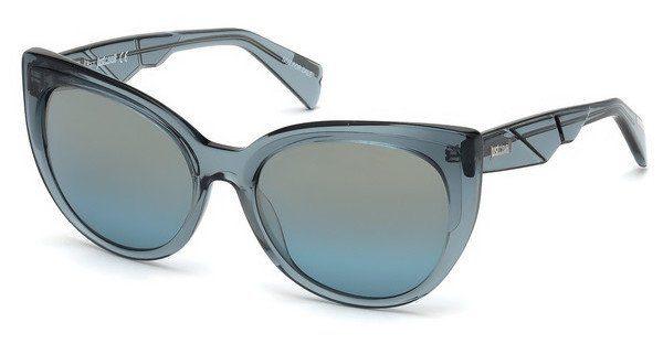 Just Cavalli Damen Sonnenbrille » JC836S«, blau, 87X - blau/blau