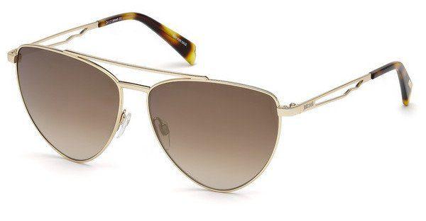 Just Cavalli Damen Sonnenbrille » JC839S«, schwarz, 05B - schwarz/grau