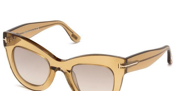 Tom Ford Damen Sonnenbrille » FT0612«, braun, 52K - braun/braun