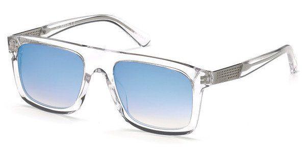 Diesel Herren Sonnenbrille » DL0268«, braun, 45C - braun/grau