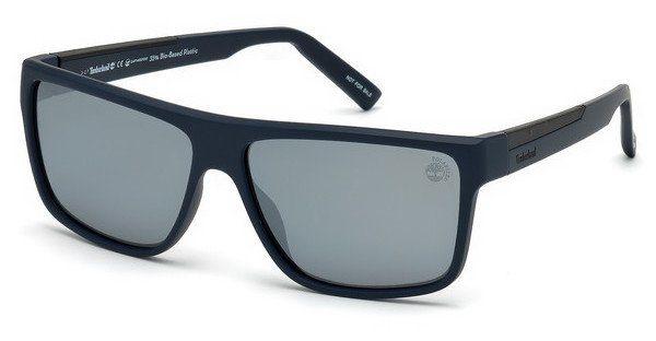Timberland Herren Sonnenbrille » TB9156«, blau, 91D - blau/grau