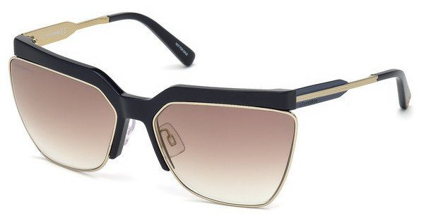 Dsquared2 Damen Sonnenbrille » DQ0288«, braun, 52G - braun/braun