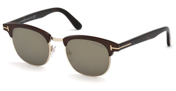Tom Ford Herren Sonnenbrille » FT0623«, braun, 49C - braun/grau