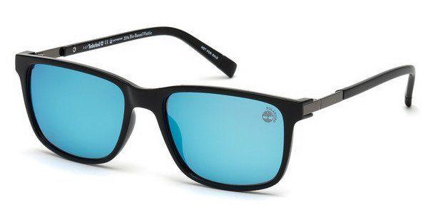 Timberland Herren Sonnenbrille » TB9155«, schwarz, 01R - schwarz/grün
