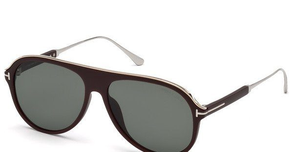 Tom Ford Herren Sonnenbrille » FT0624«, braun, 49A - braun/grau