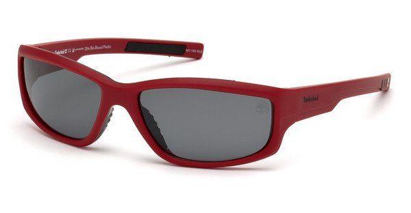Timberland Herren Sonnenbrille » TB9154«, rot, 67D - rot/grau
