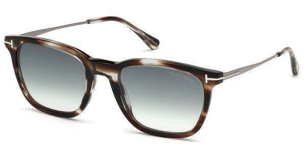 Tom Ford Herren Sonnenbrille » FT0625«, braun, 47A - braun/grau