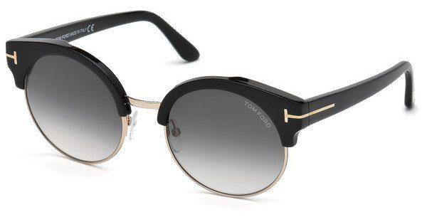 Tom Ford Damen Sonnenbrille » FT0608«, schwarz, 01B - schwarz/grau