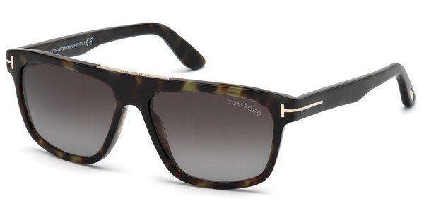 Tom Ford Herren Sonnenbrille » FT0593«, schwarz, 01J - schwarz/braun