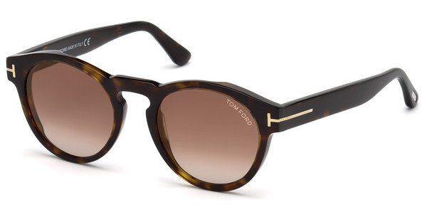 Tom Ford Sonnenbrille » FT0615«, braun, 52G - braun/braun